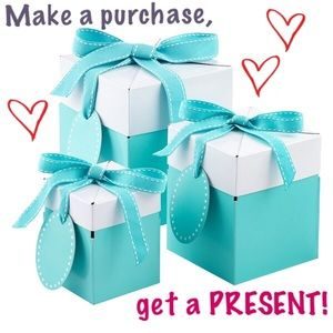 Every purchase will come with a little extra love!